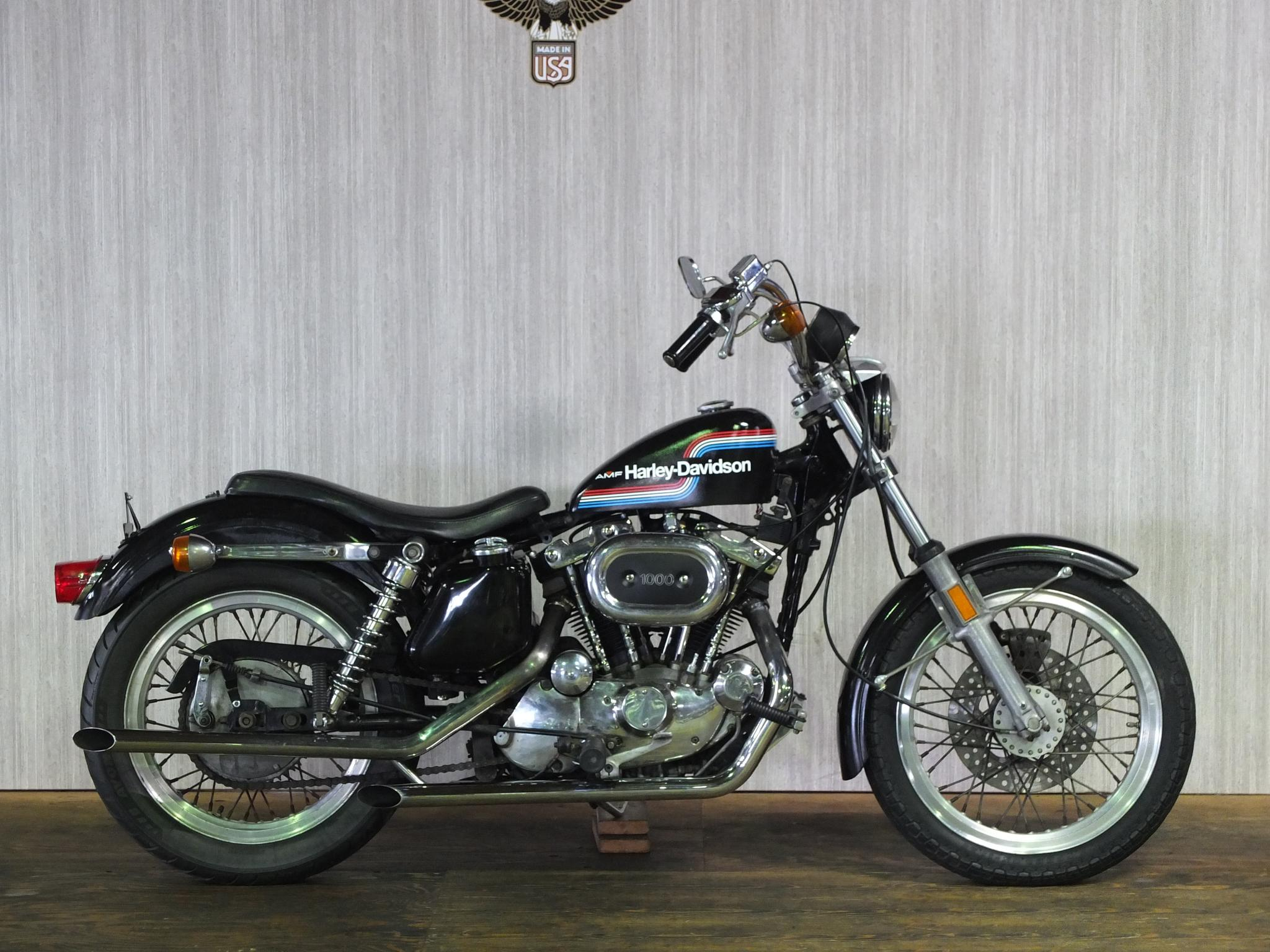 ハーレーダビッドソン 1975 XLH 1000 車体写真1