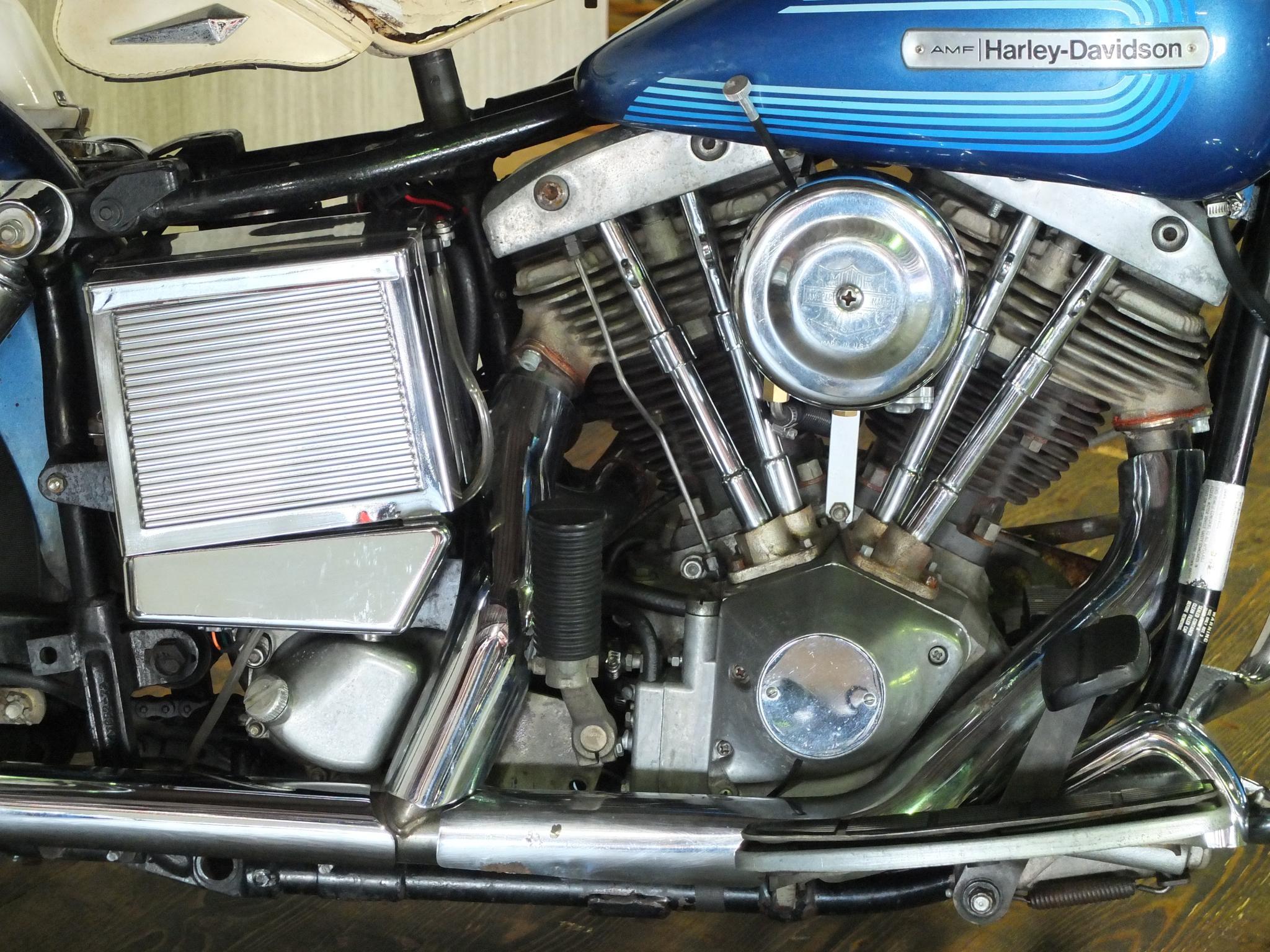 ハーレーダビッドソン 1976 FLH 1200 車体写真7
