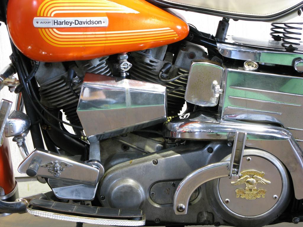 ハーレーダビッドソン 1976 FLH 車体写真8