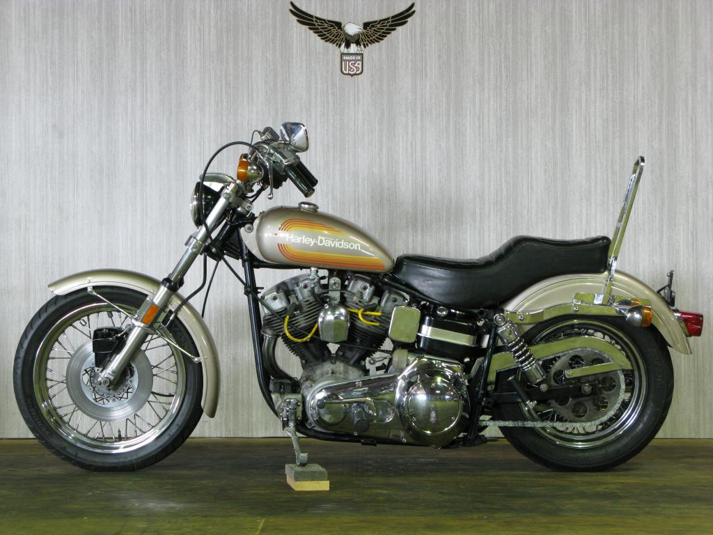 ハーレーダビッドソン 1976 FXE 1200 車体写真4