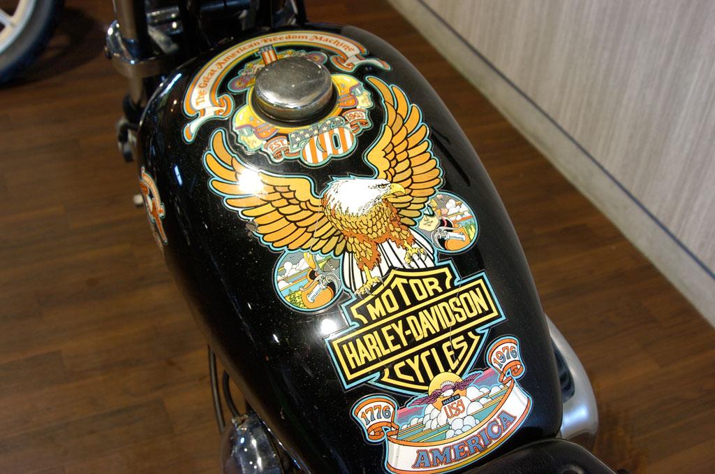 ハーレーダビッドソン 1976 FXE Liberty Edition 車体写真9
