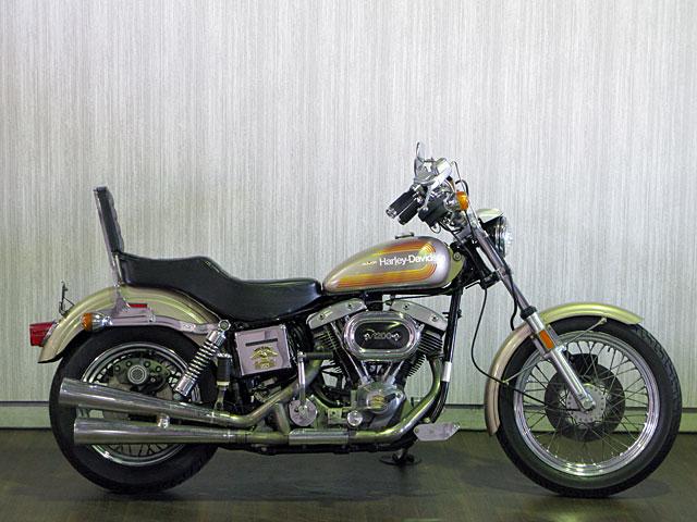 ハーレーダビッドソン 1976 FXE 1200cc 車体写真1