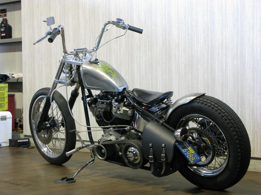 ハーレー FXE Ridgid Shovel Custom 車体写真6