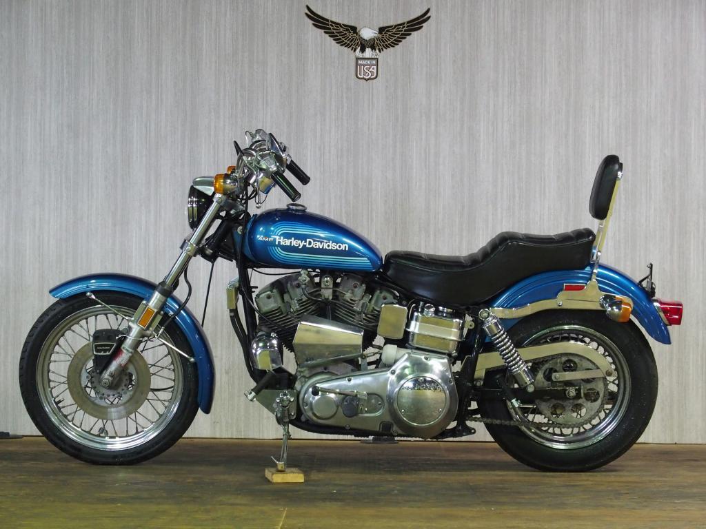 ハーレーダビッドソン 1976 FXE Super Glide 車体写真4