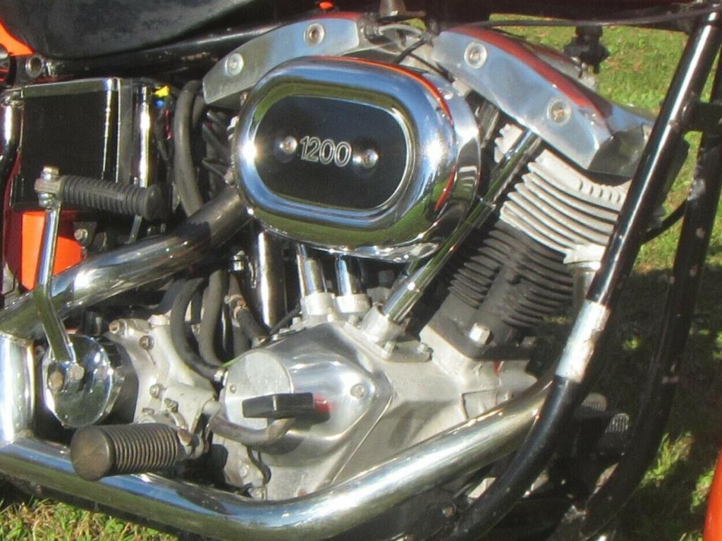ハーレーダビッドソン 1976 FX 車体写真7