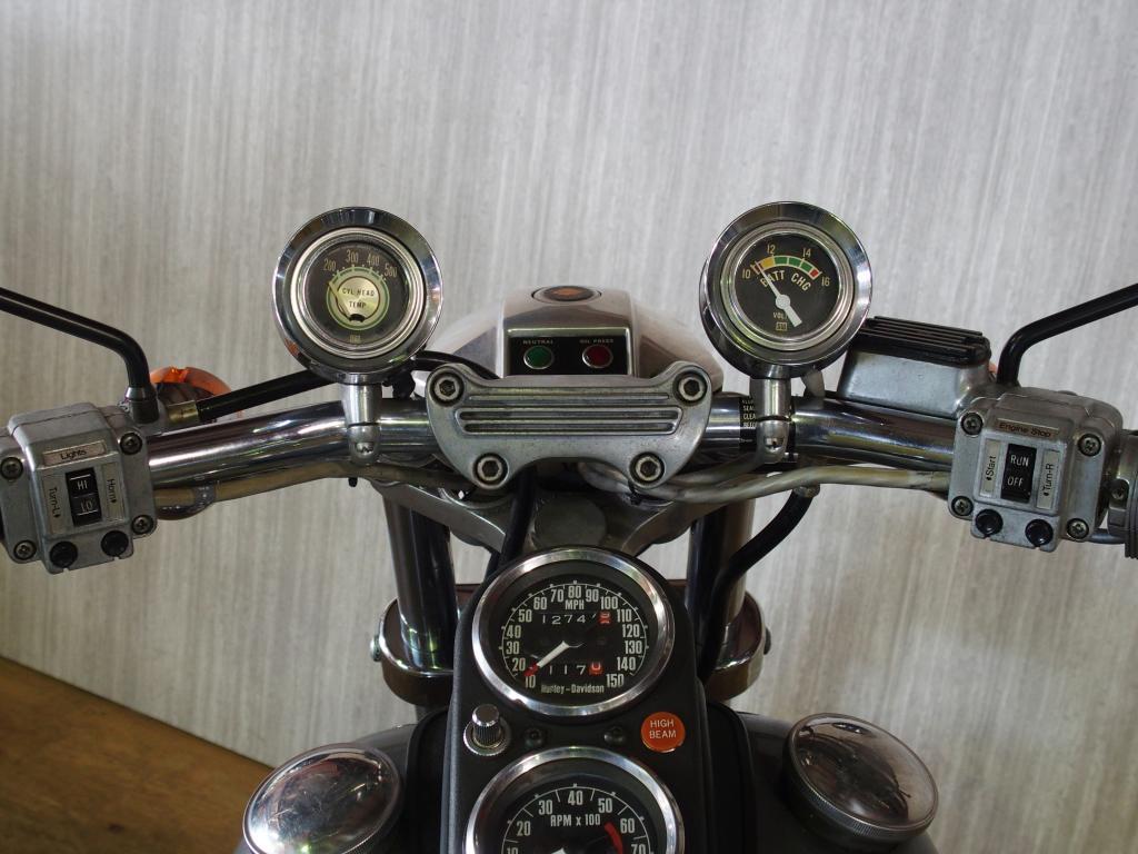 ハーレーダビッドソン 1977 FXS Low Rider Prototype 車体写真10