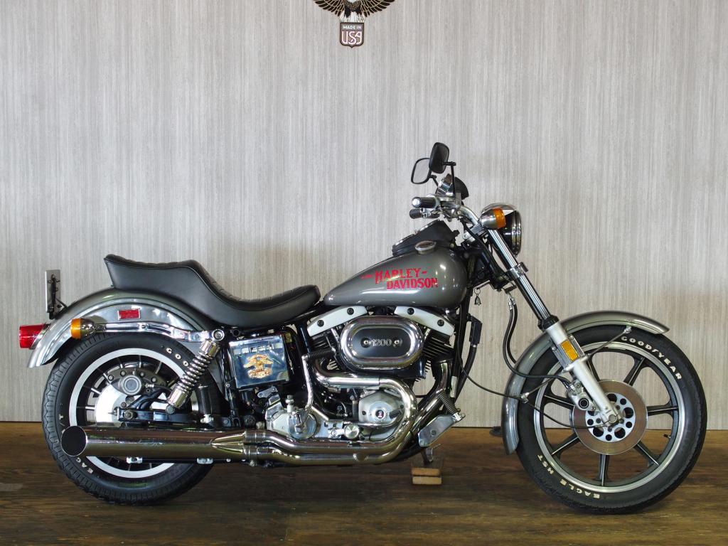 ハーレーダビッドソン 1977 FXS Low Rider Prototype 車体写真1