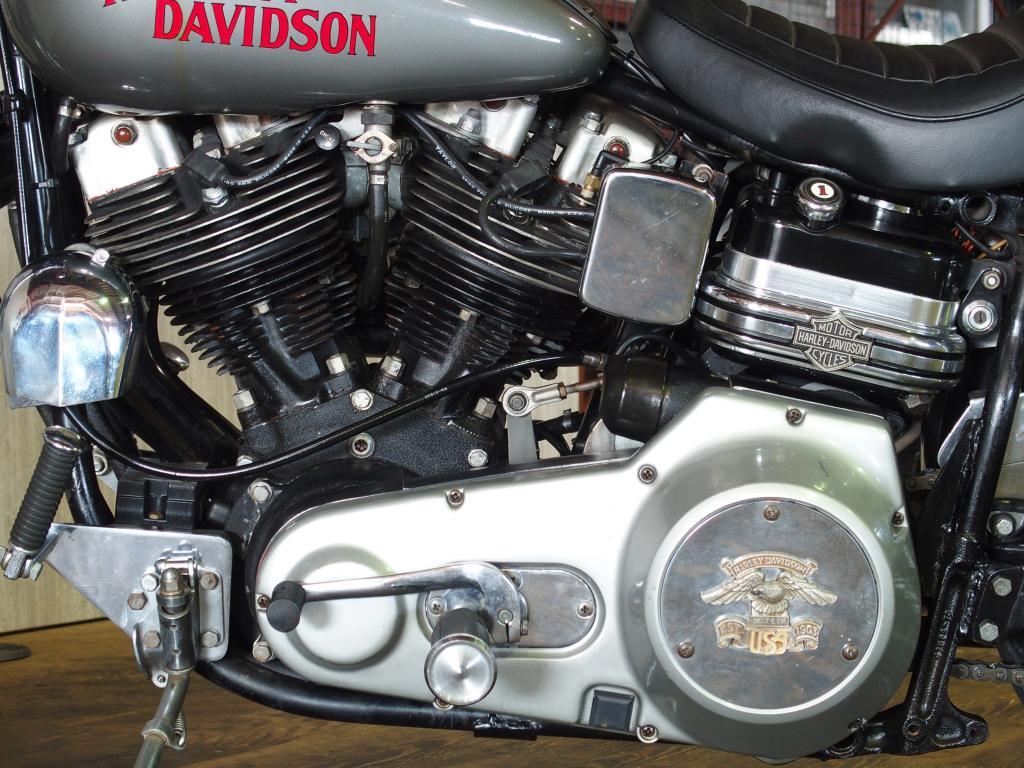 ハーレーダビッドソン 1977 FXS Low Rider Prototype 車体写真8