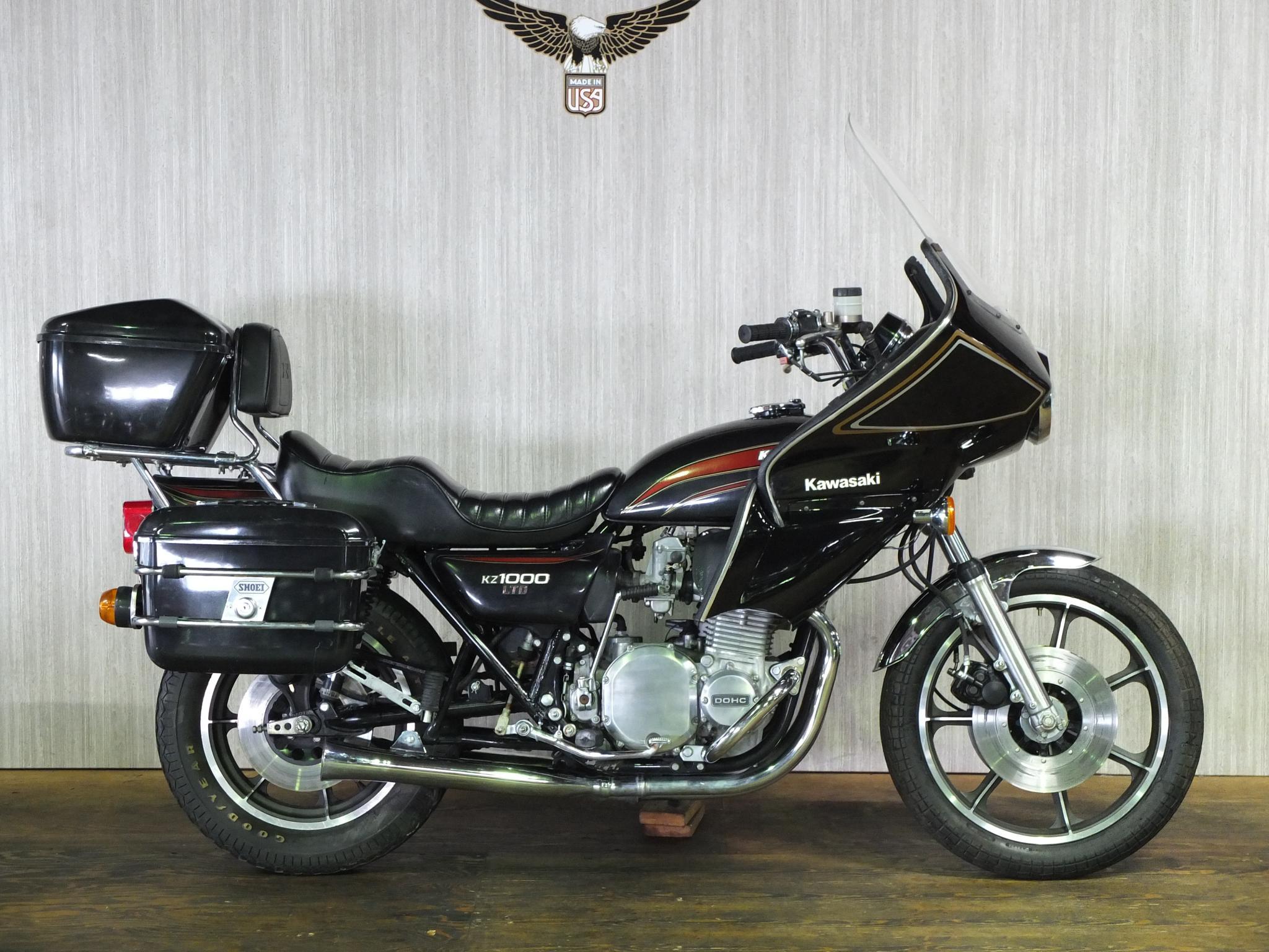 カワサキ 1977 Kawasaki KZ1000 LTD 車体写真1