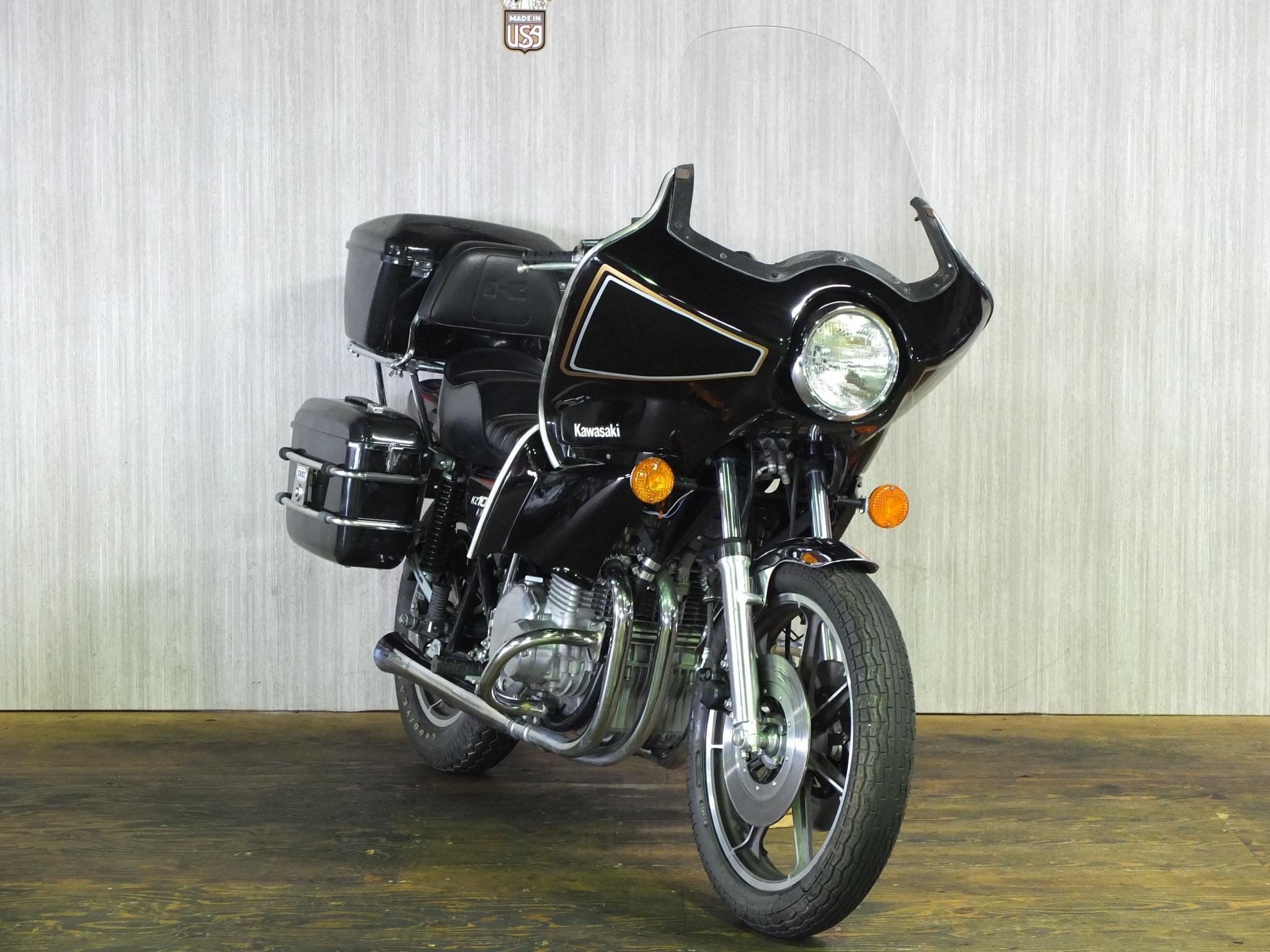 カワサキ 1977 Kawasaki KZ1000 LTD 車体写真2