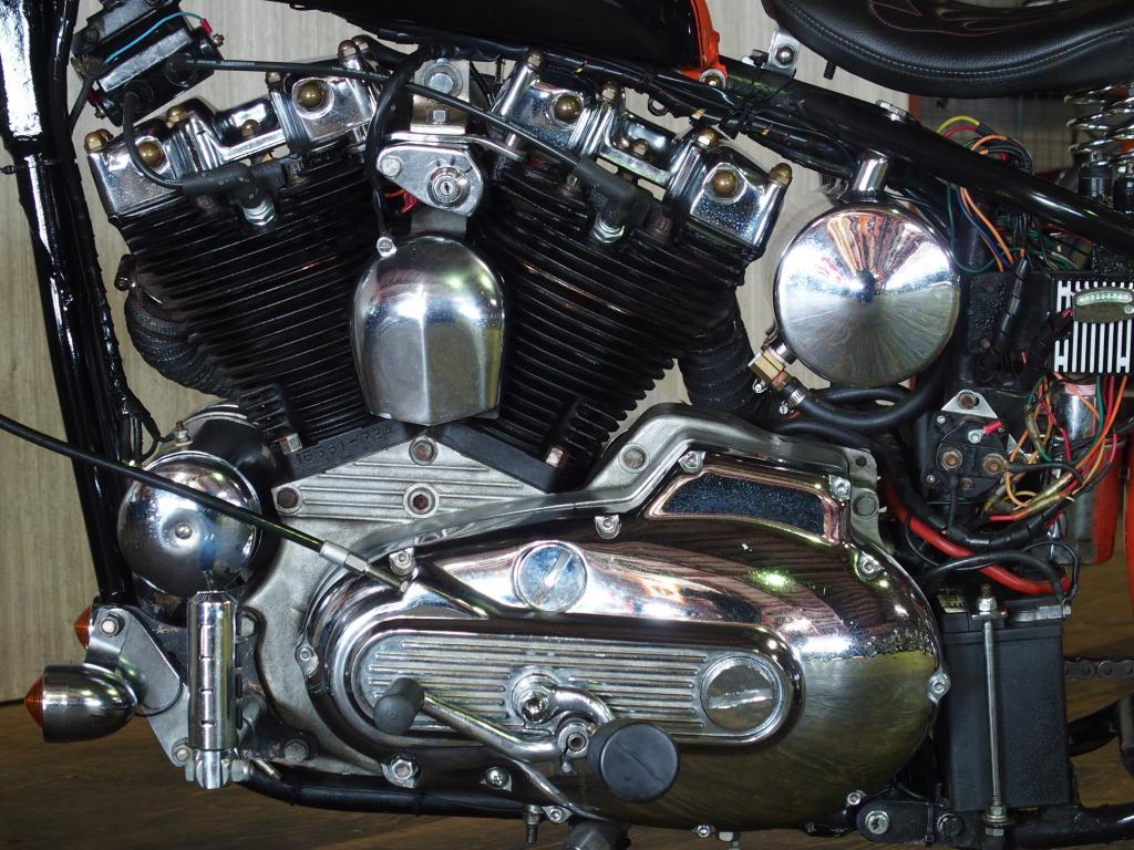 ハーレーダビッドソン 1977 Ridgid Iron 車体写真8