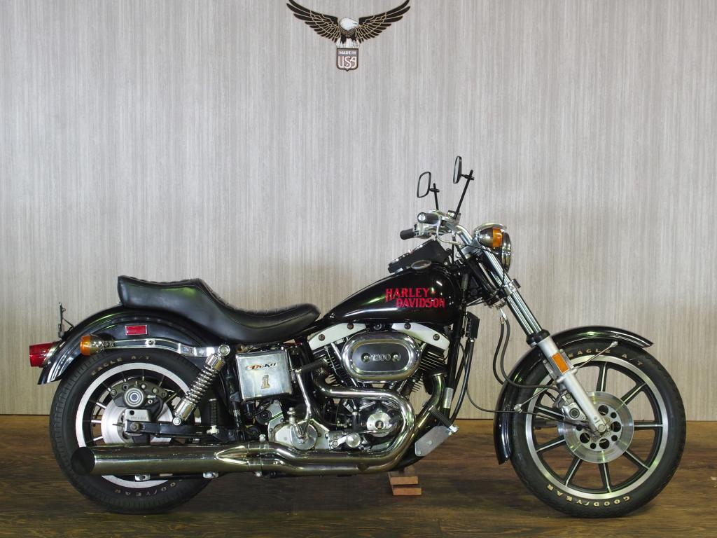 ハーレーダビッドソン 1978 FXS 1200 Low Rider 車体写真1