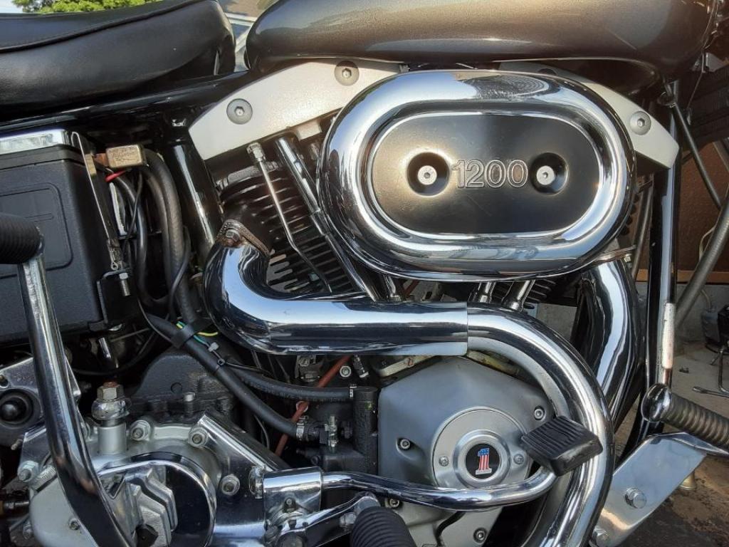 ハーレーダビッドソン 1978 FXS 1200 Low Rider 車体写真3