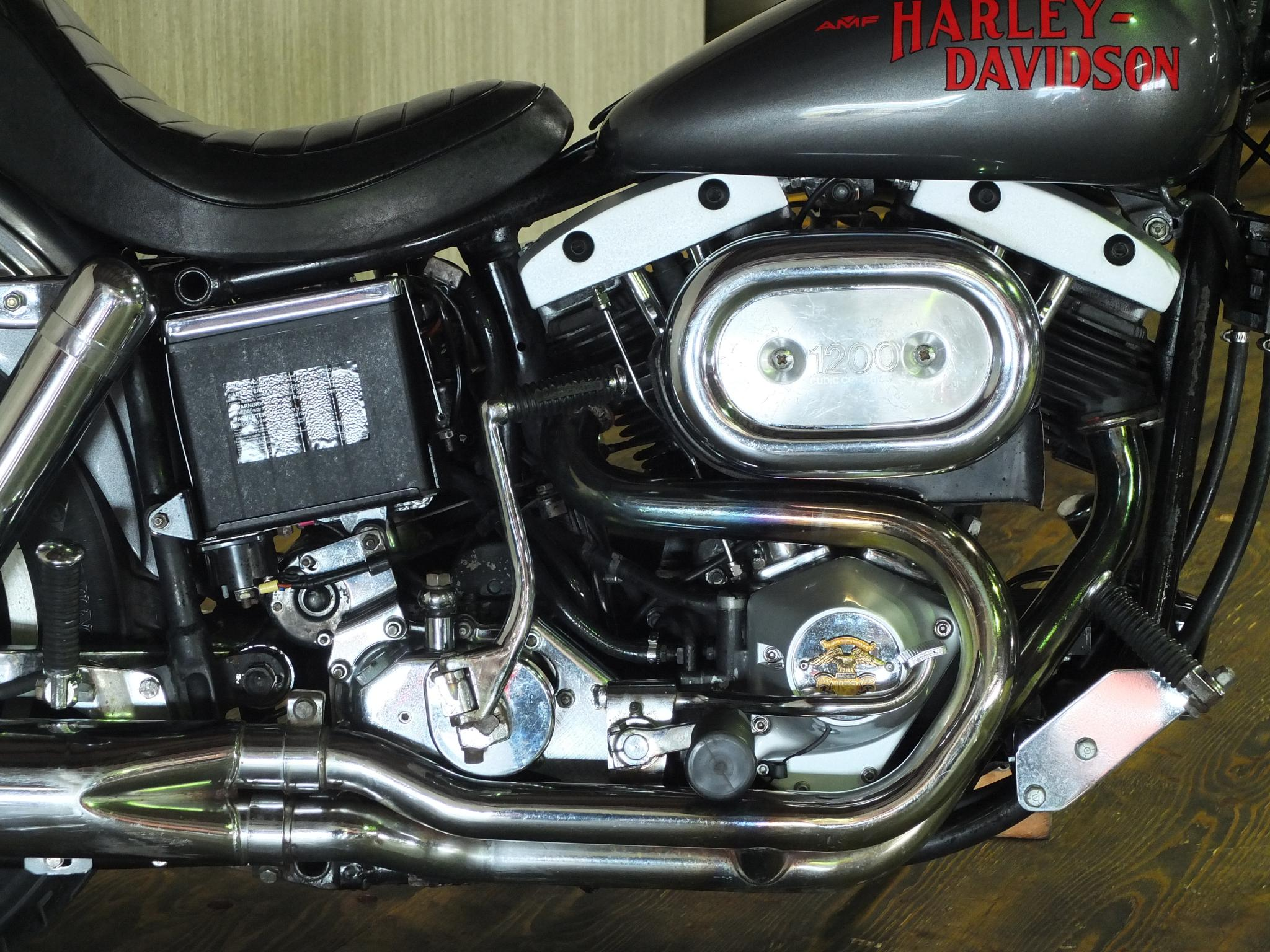 ハーレーダビッドソン 1978 FXS 1200 Low Rider 車体写真7