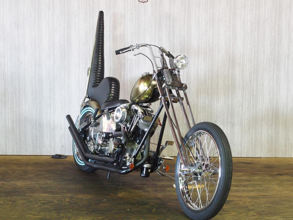 ハーレーダビッドソン 1978 Rigid Shovel Chopper 車体写真2