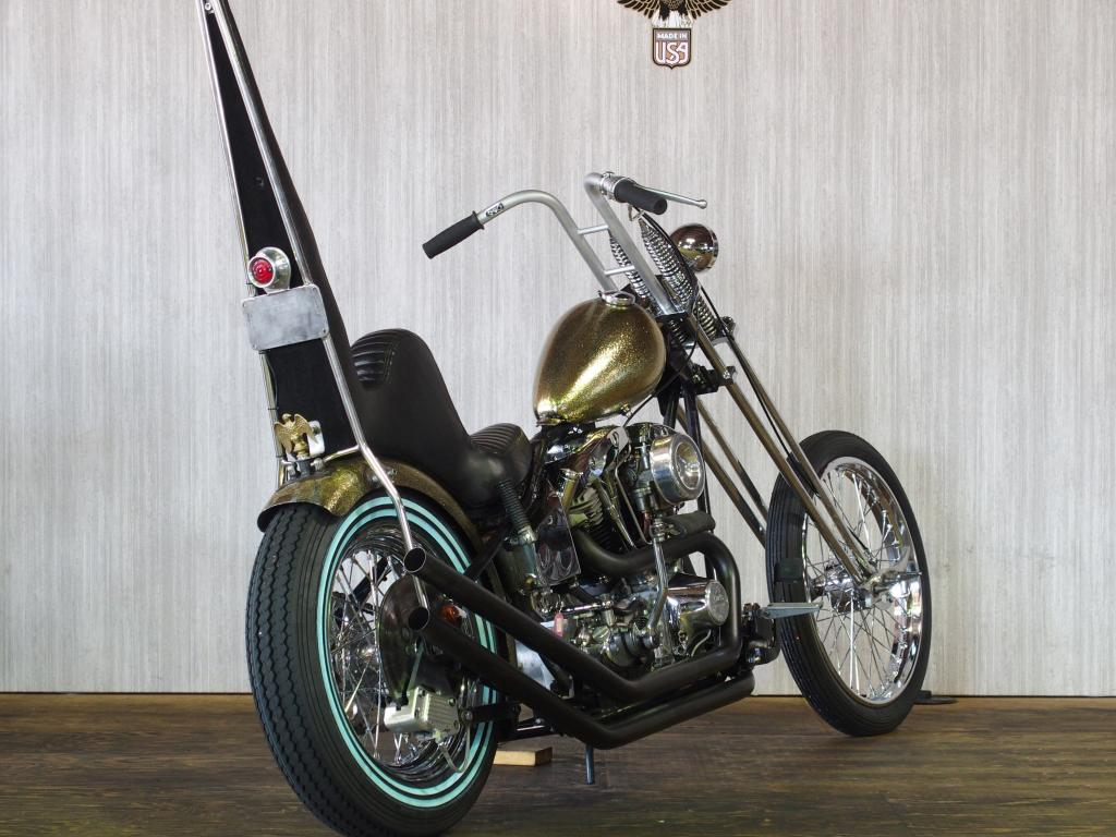 ハーレーダビッドソン 1978 Rigid Shovel Chopper 車体写真3