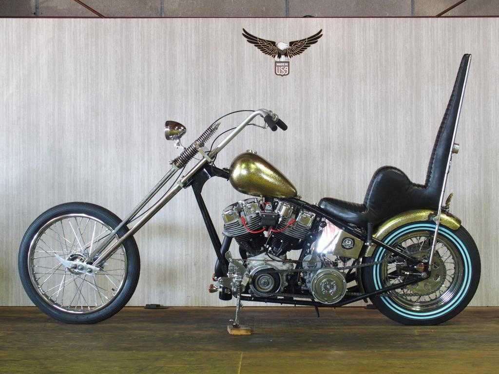 ハーレーダビッドソン 1978 Rigid Shovel Chopper 車体写真4