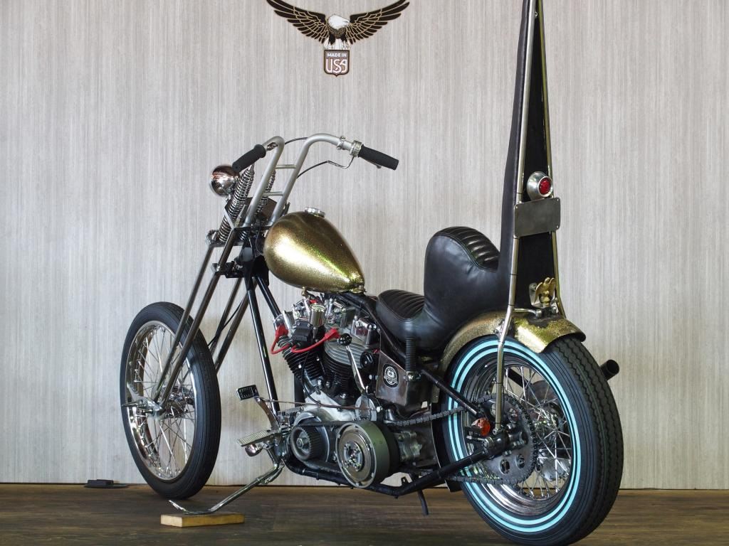 ハーレーダビッドソン 1978 Rigid Shovel Chopper 車体写真6