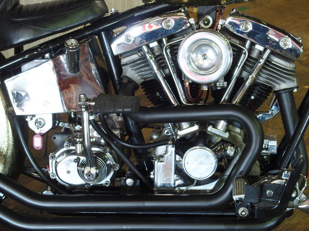 ハーレーダビッドソン 1978 Rigid Shovel Chopper 車体写真7