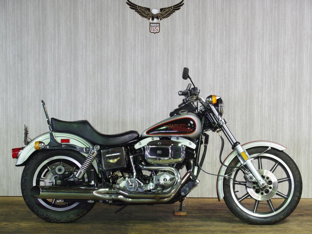 ハーレーダビッドソン 1979 FXS Low Rider 車体写真1