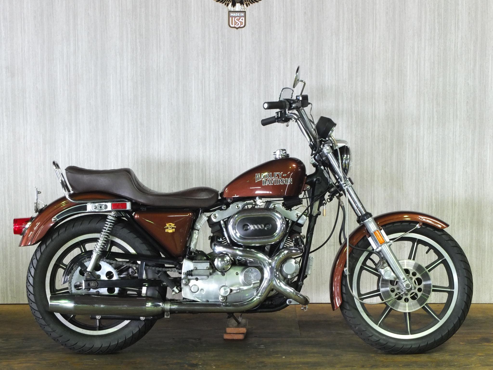 ハーレーダビッドソン 1979 XLH 1000 車体写真1