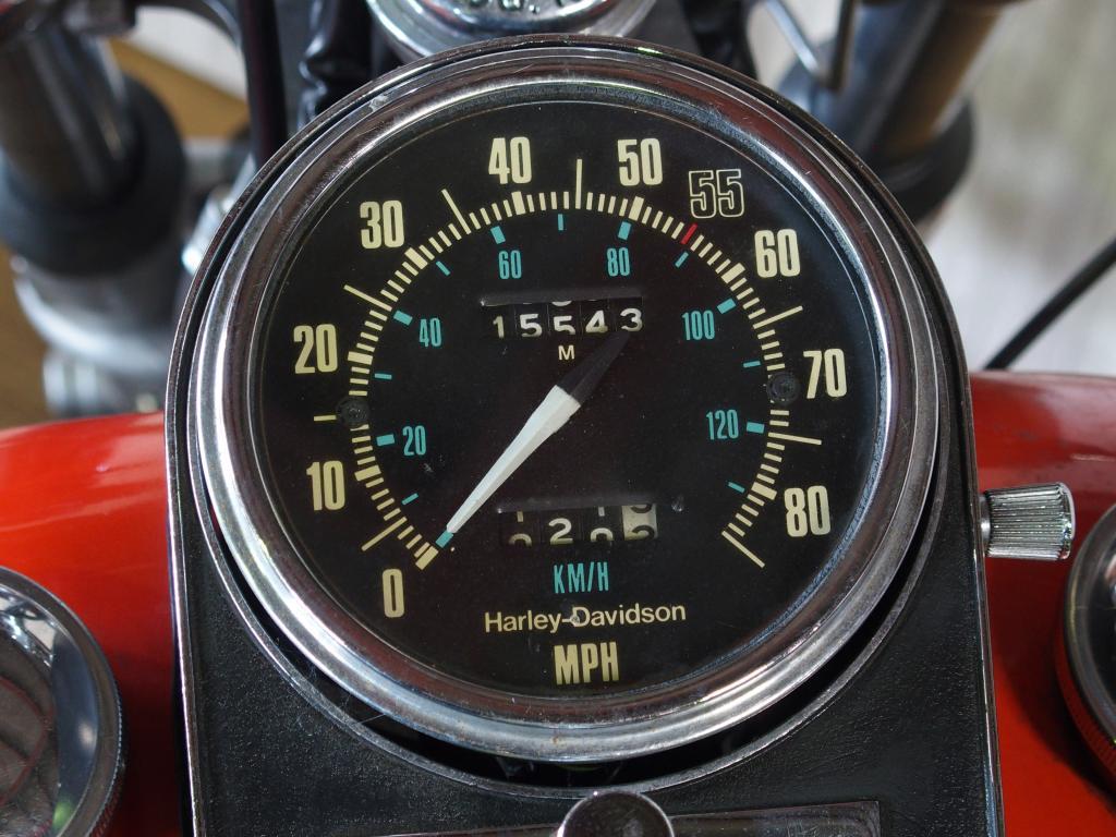 ハーレーダビッドソン 1980 FXWG 車体写真9