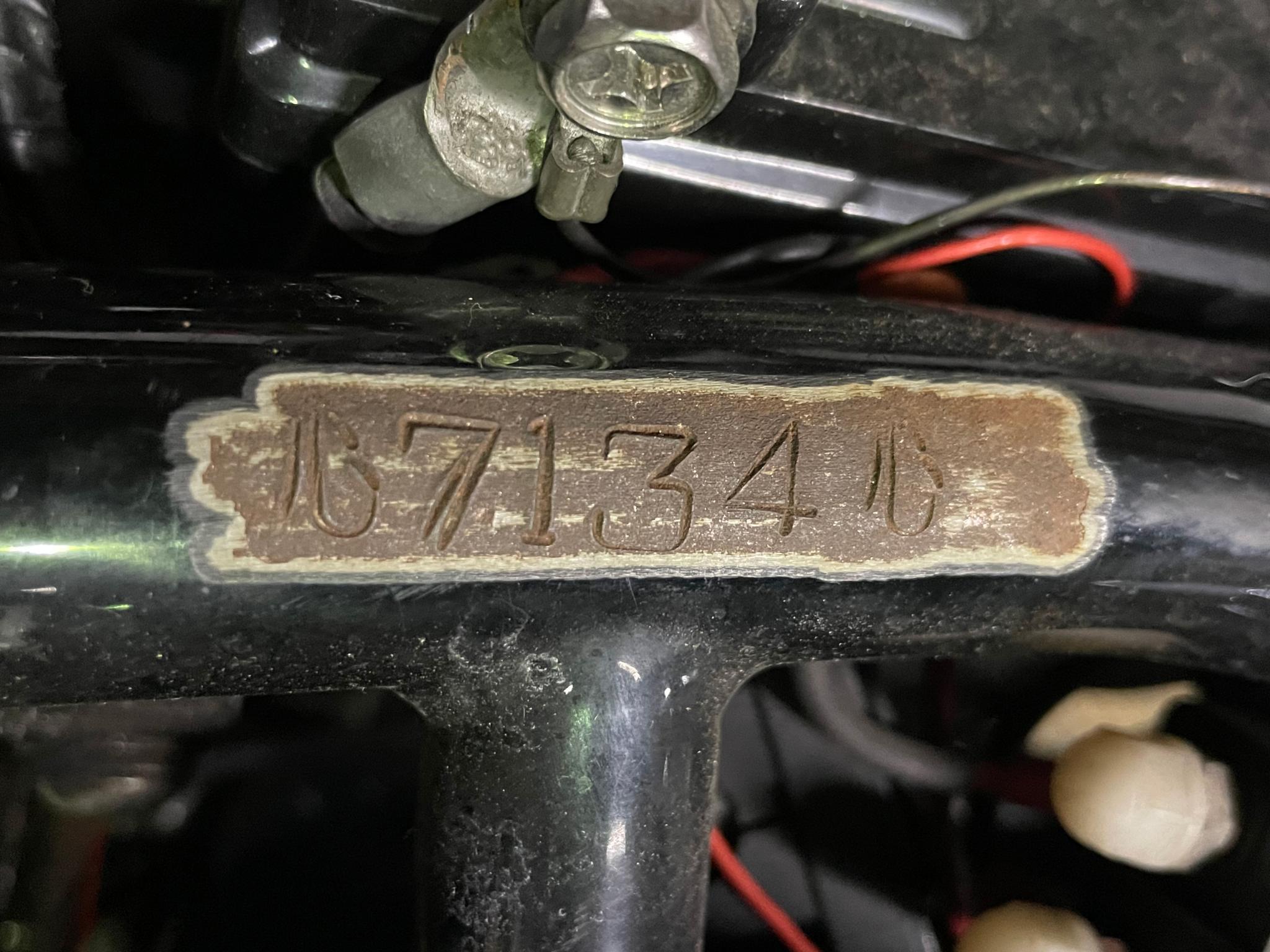 ハーレーダビッドソン 1980 Rigid Shovel 車体写真11