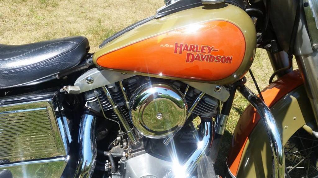 ハーレーダビッドソン 1981 FLH Heritage Edition 車体写真3