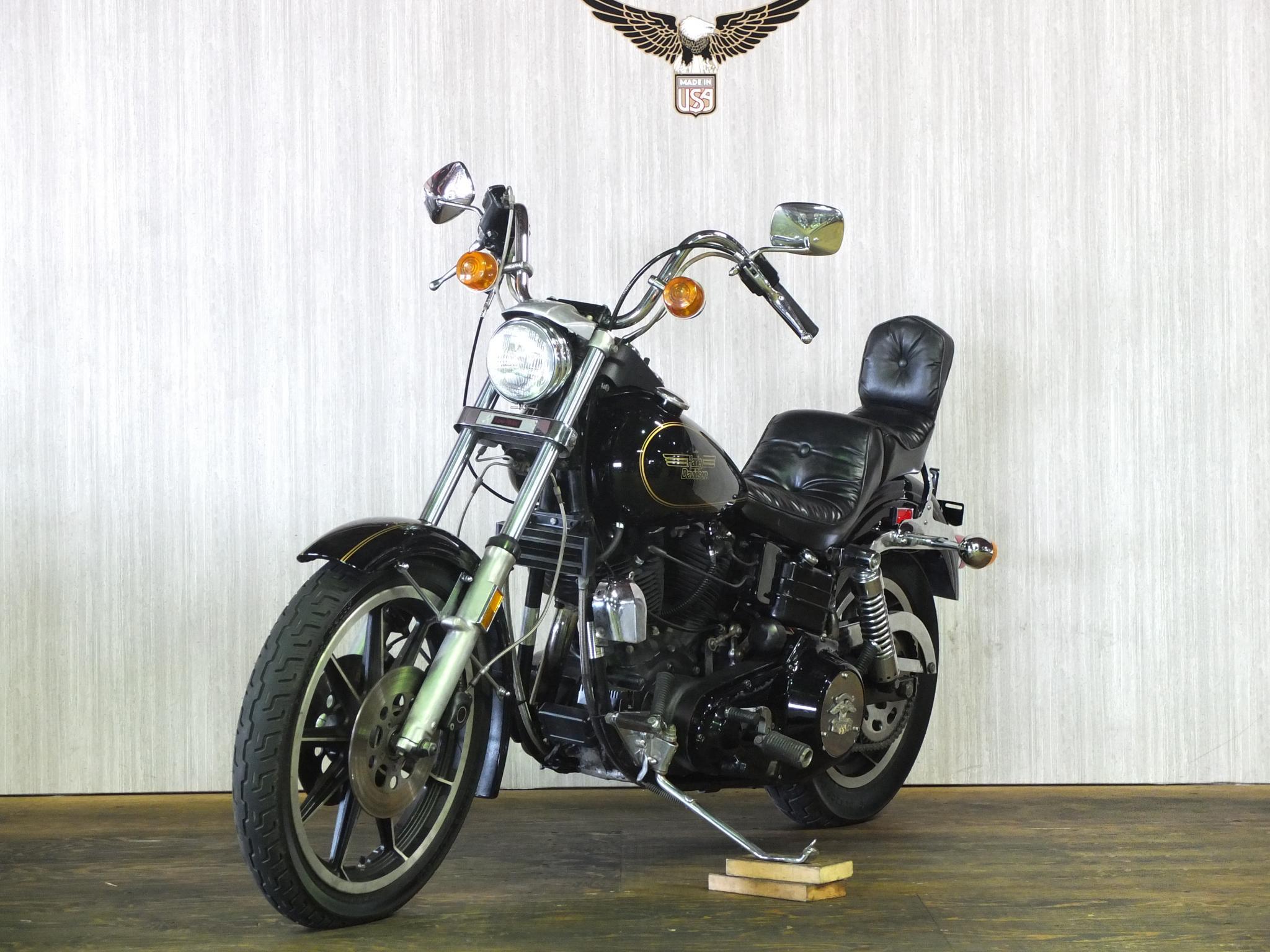 ハーレーダビッドソン 1981 FXS Low Rider 車体写真5