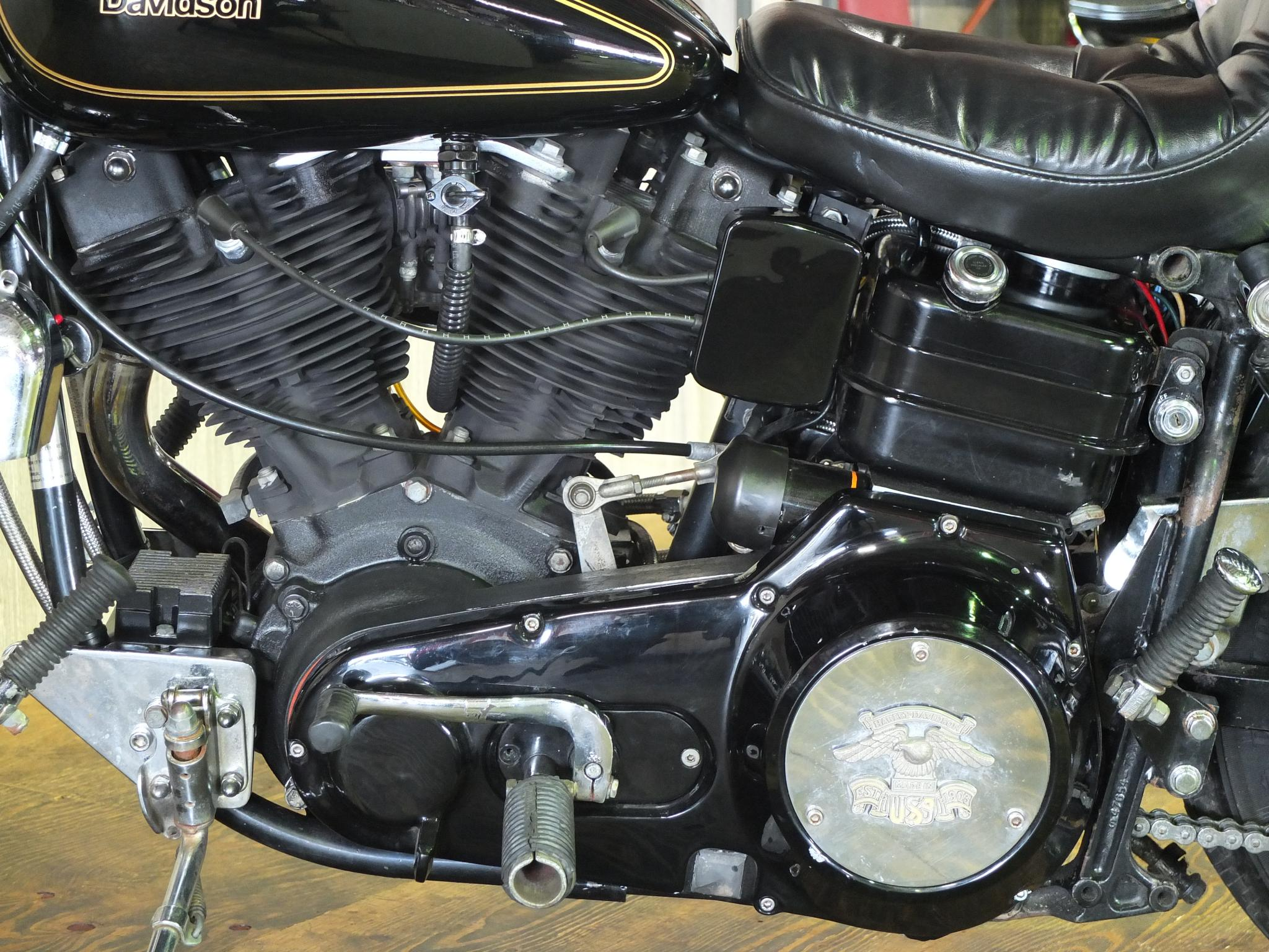 ハーレーダビッドソン 1981 FXS Low Rider 車体写真8