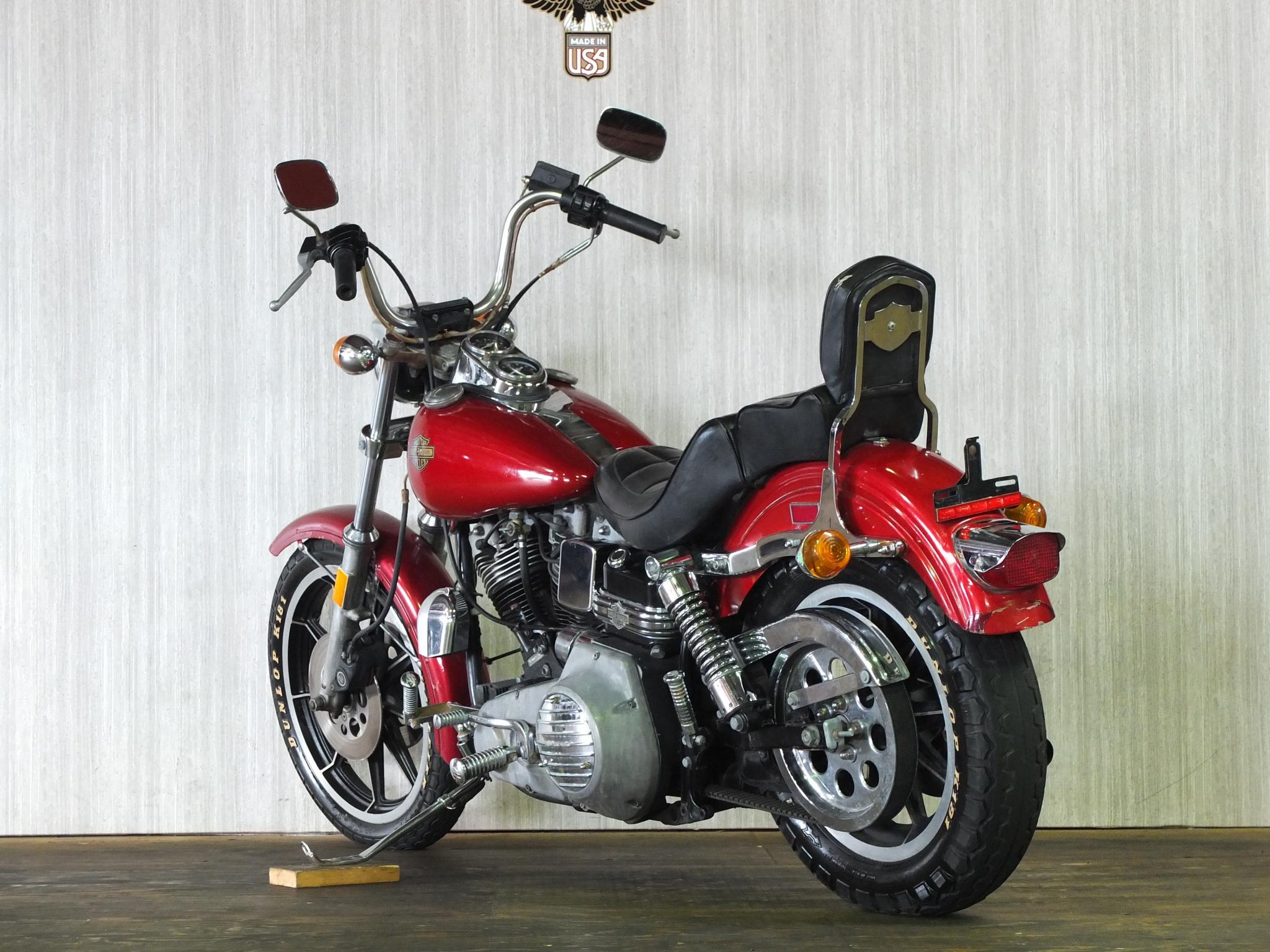 ハーレーダビッドソン 1983 FXSB Low Rider 車体写真6