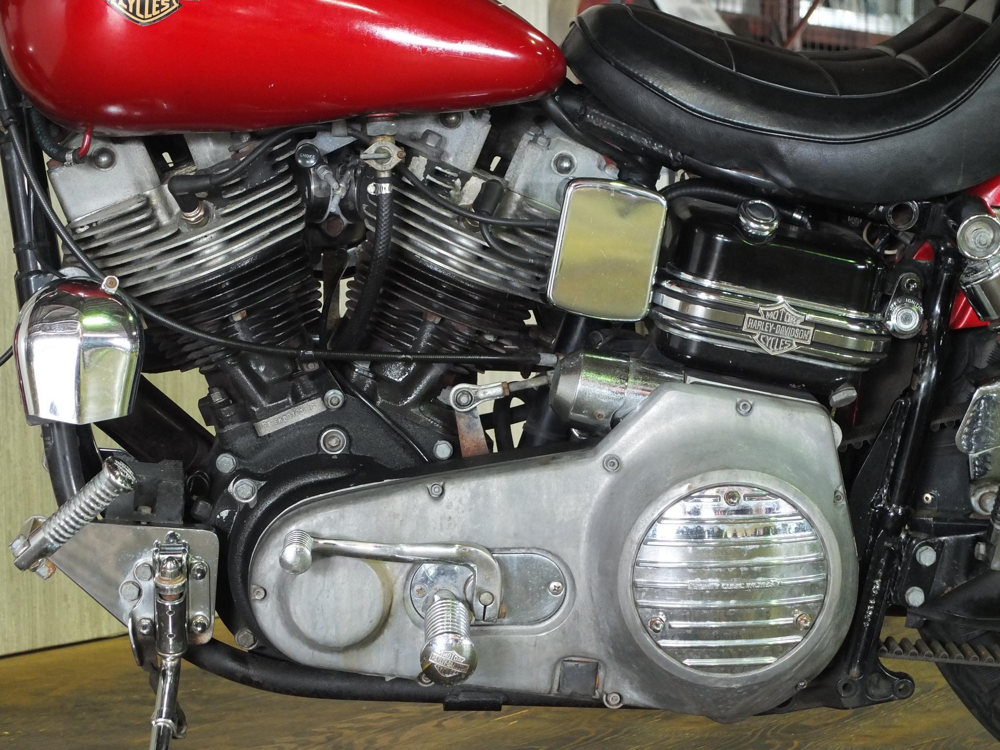 ハーレーダビッドソン 1983 FXSB Low Rider 車体写真8