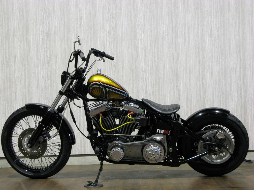 ハーレー FXSTC Softail Custom 車体写真6