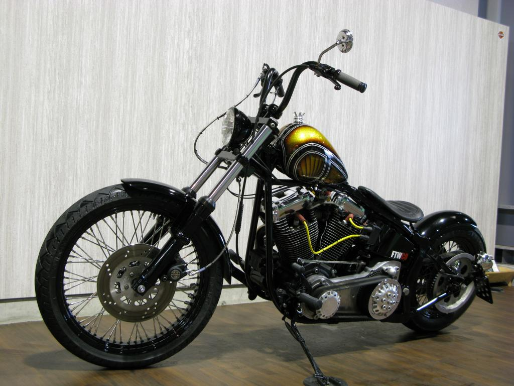 ハーレー FXSTC Softail Custom 車体写真7