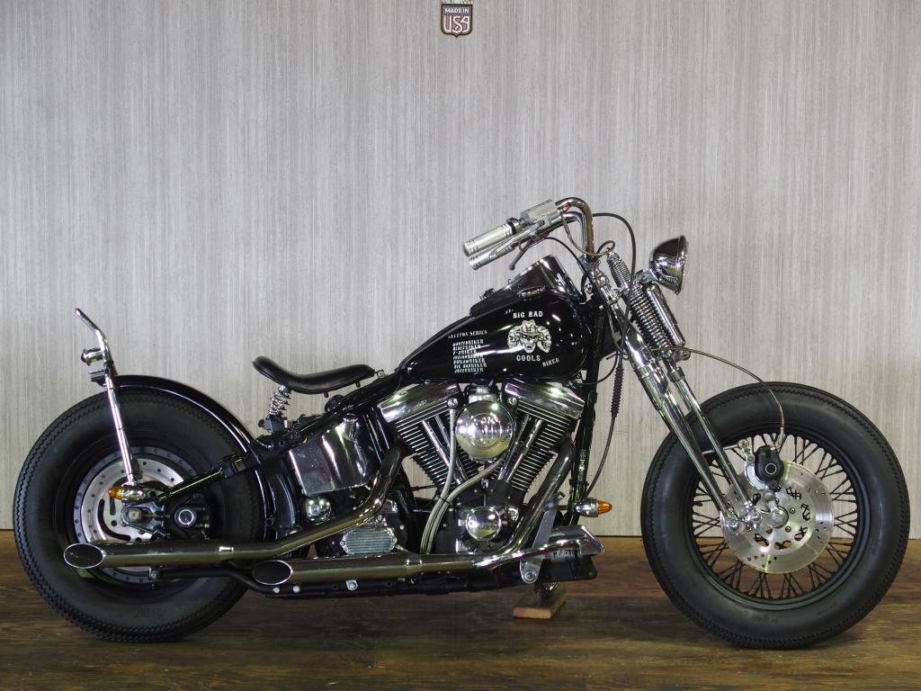 ハーレーダビッドソン 1997 FLSTF Custom 車体写真1