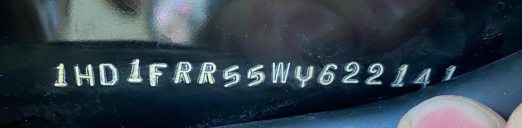 ハーレーダビッドソン 1998 FLHRI Roadking 95th Anniversary 車体写真11