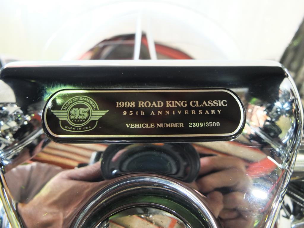 ハーレーダビッドソン 1998 FLHRI Roadking 95th Anniversary 車体写真9