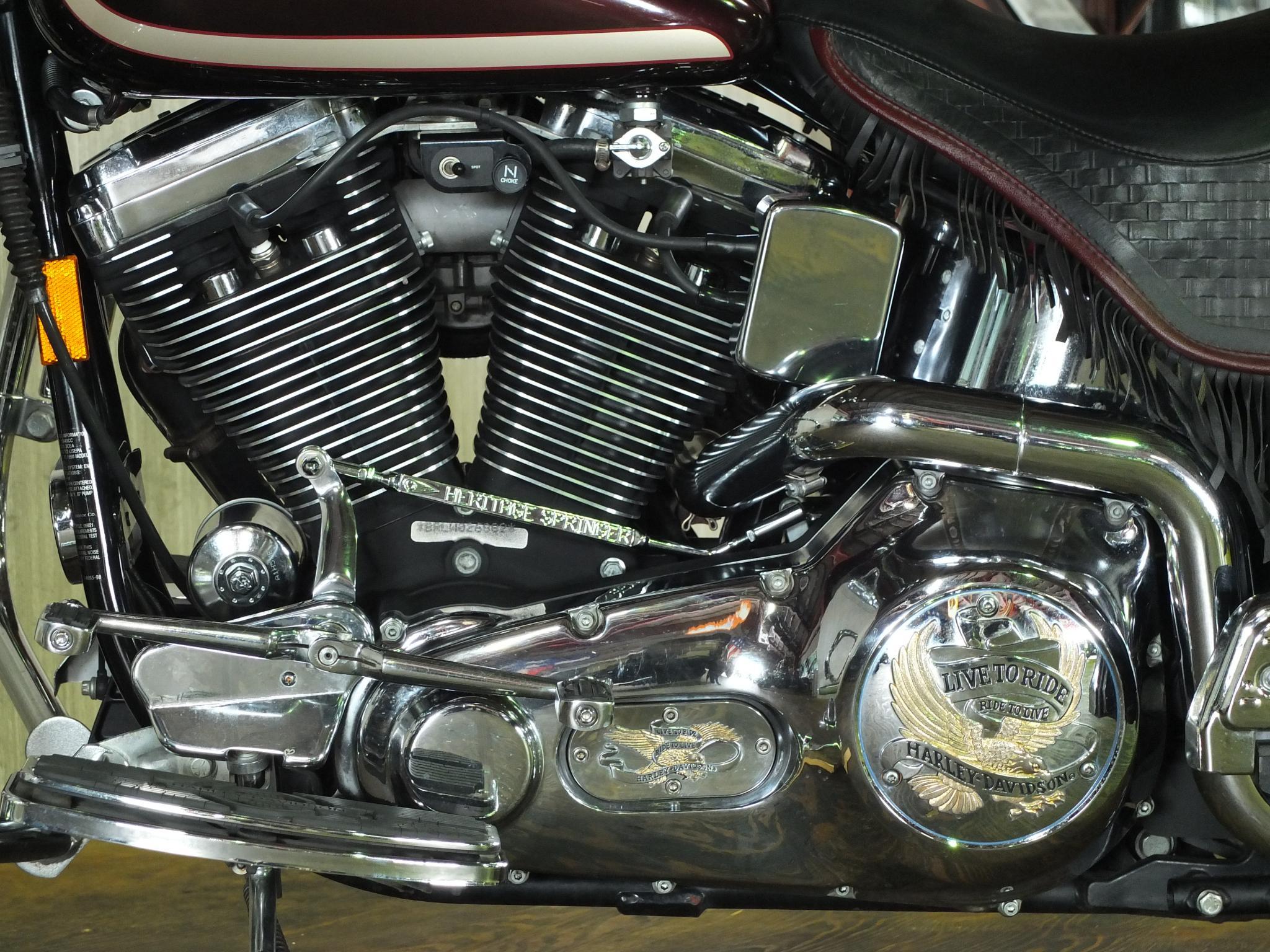 ハーレーダビッドソン 1998 FLSTS 95th Anniversary 車体写真8