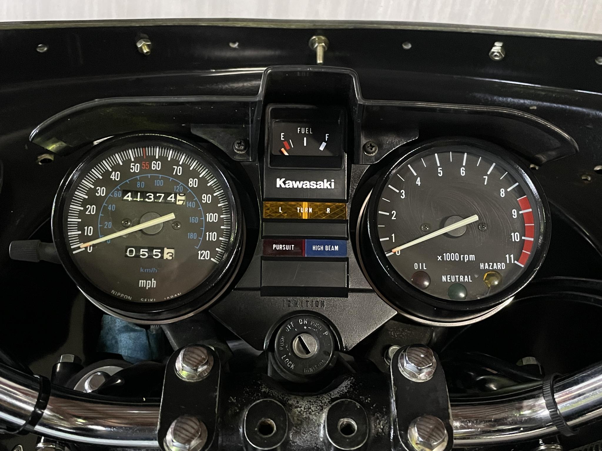 カワサキ 1998 Kawasaki KZ1000P 車体写真9