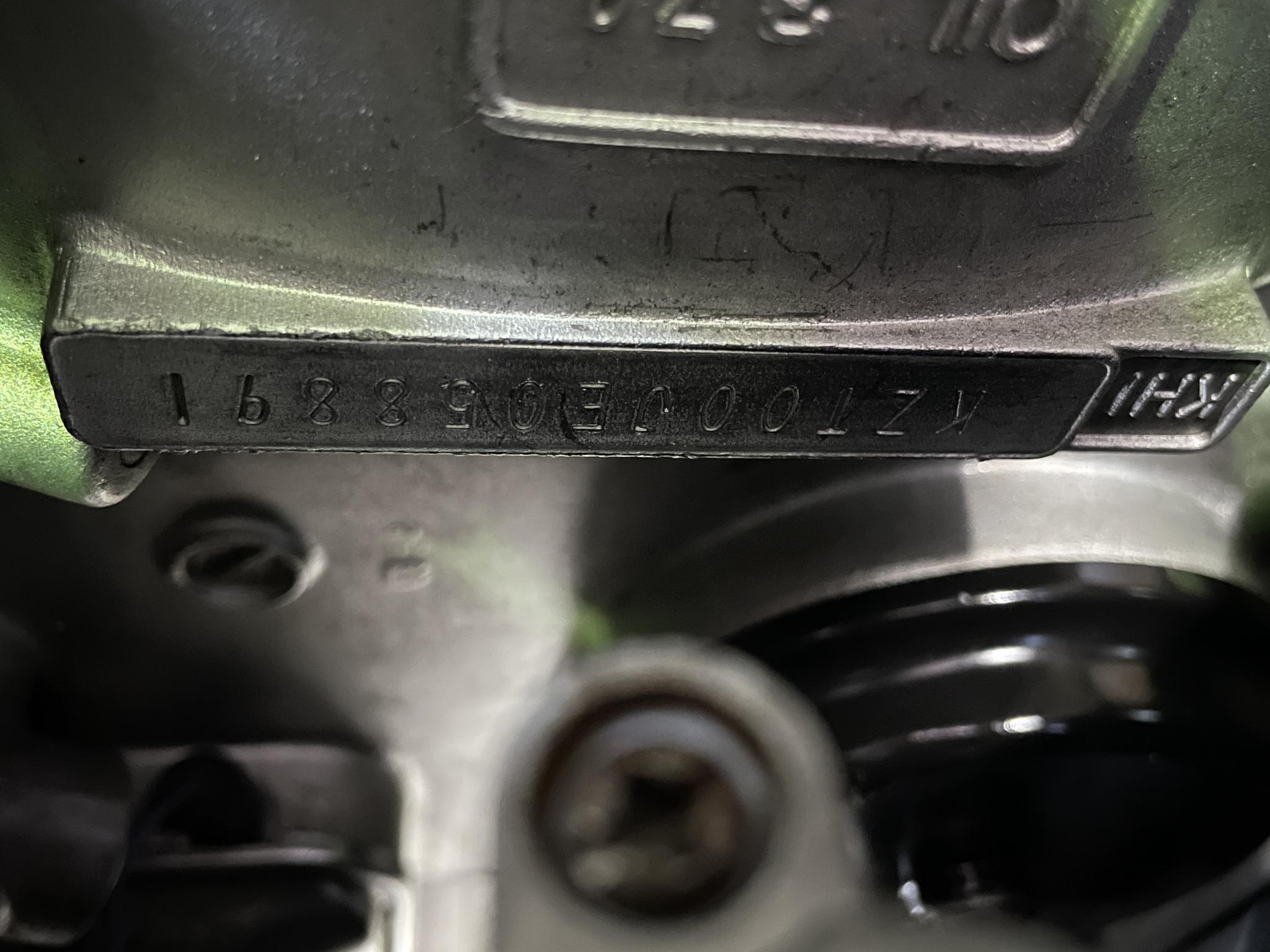 カワサキ 1998 Kawasaki KZ1000P 車体写真10