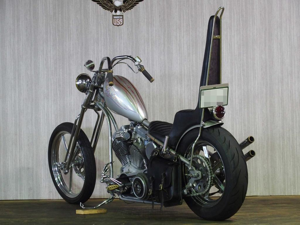 ハーレーダビッドソン 1999 Evo Rigid Chica Chopper 車体写真6
