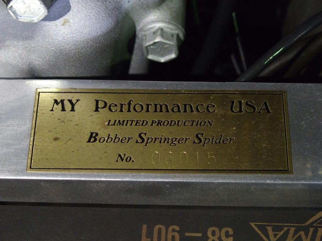 ハーレーダビッドソン 1999 MYP SBS Socal Bobber 車体写真9