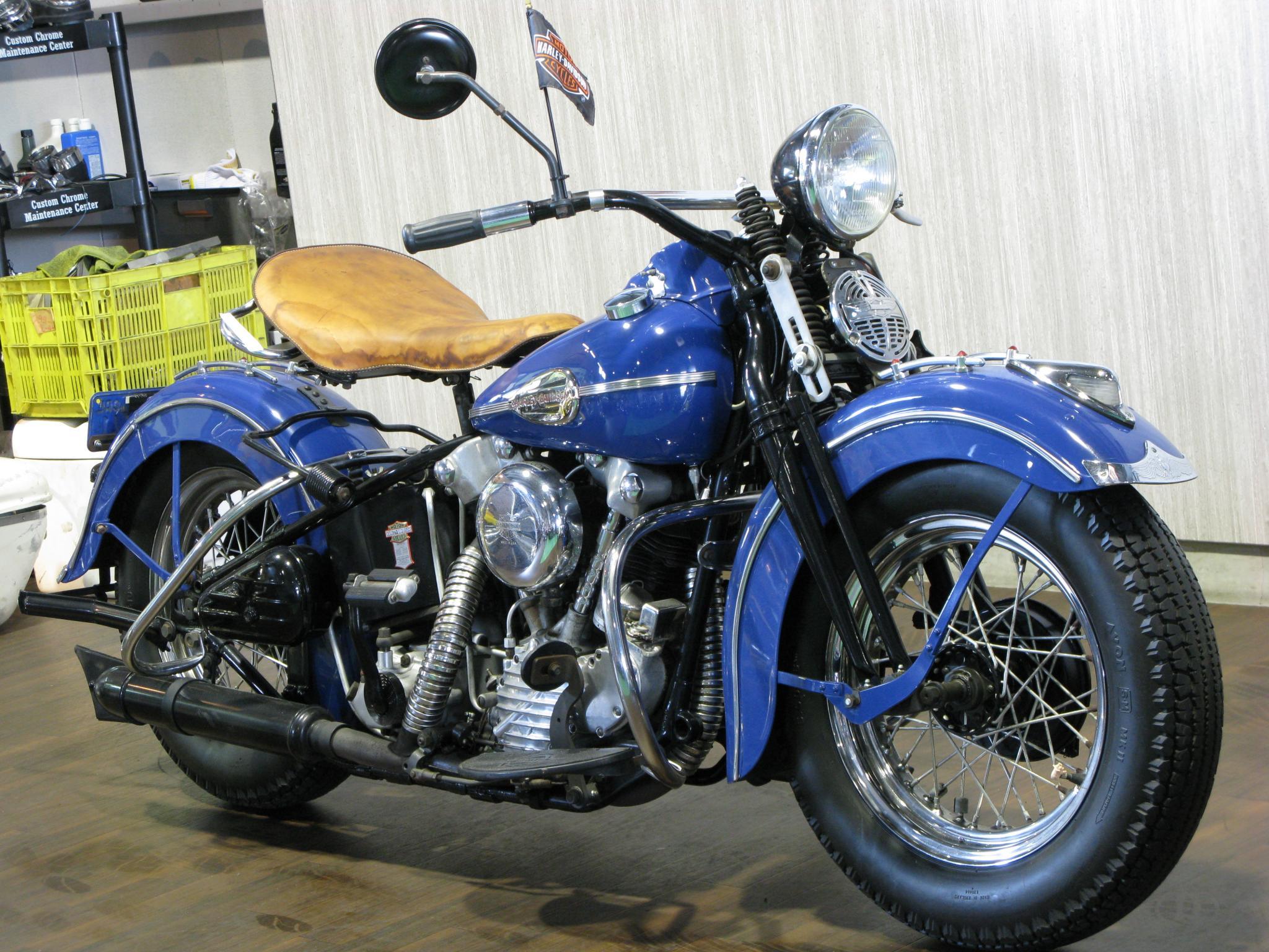 ハーレーダビッドソン 1941 Knuckle EL 1000 車体写真2