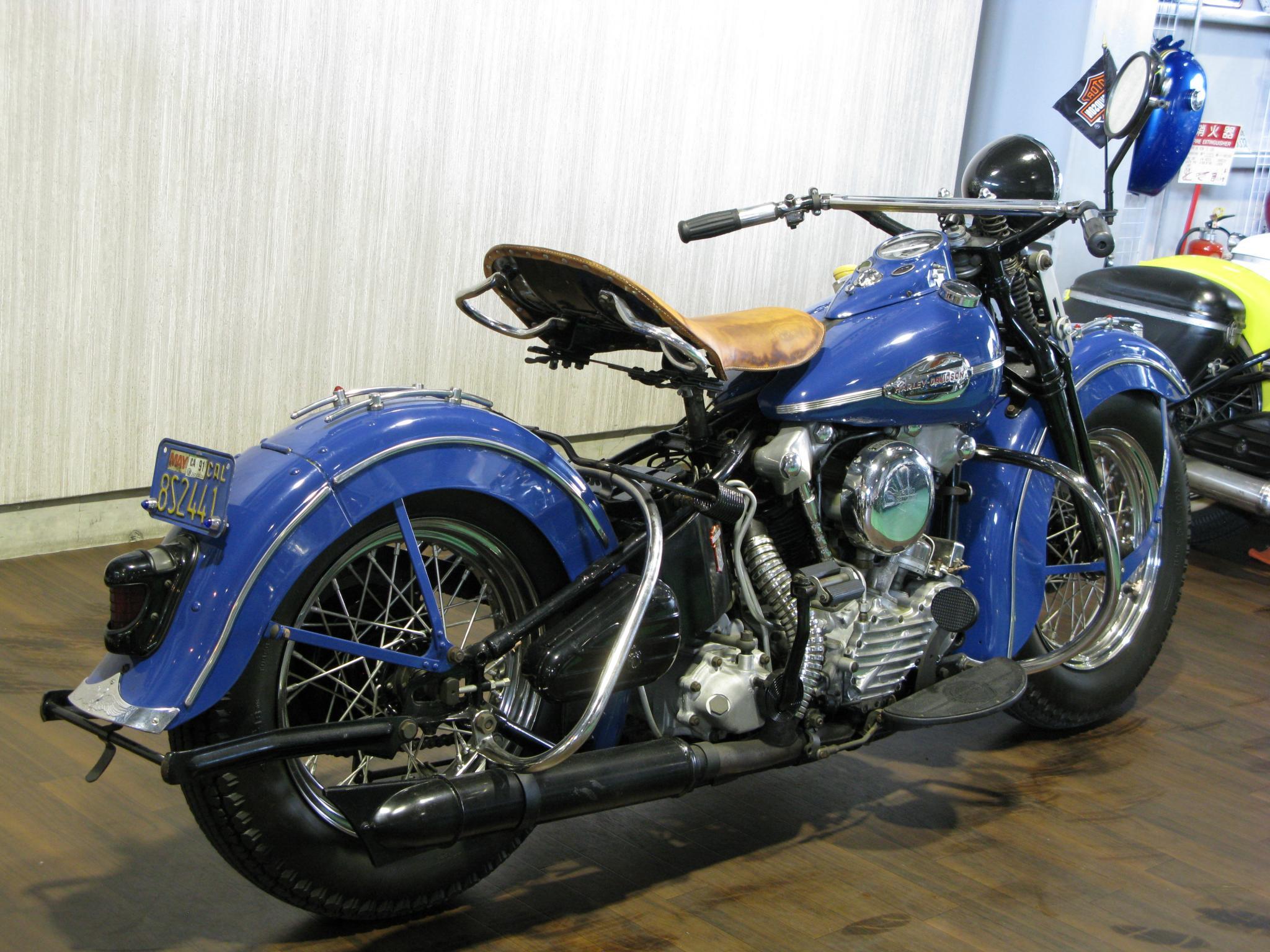 ハーレーダビッドソン 1941 Knuckle EL 1000 車体写真3