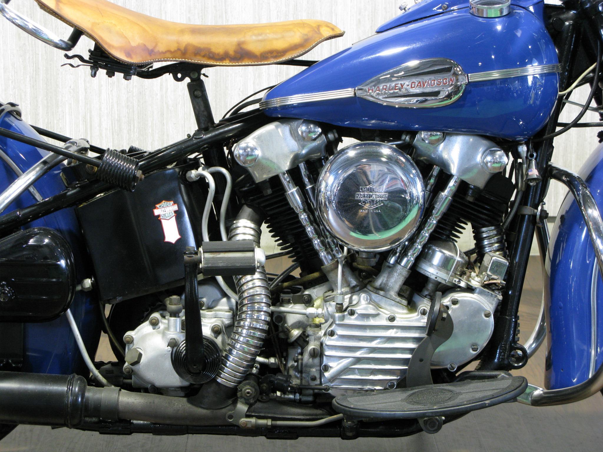 ハーレーダビッドソン 1941 Knuckle EL 1000 車体写真4