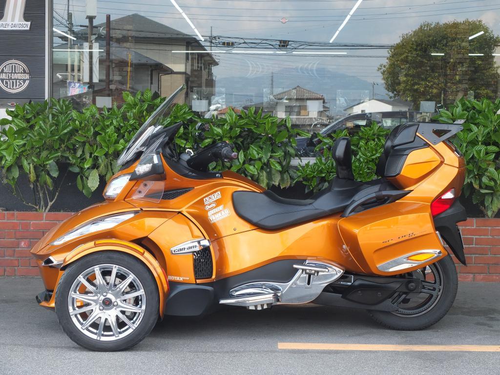 BRP 2014 BRP Can-am Spyder 車体写真5