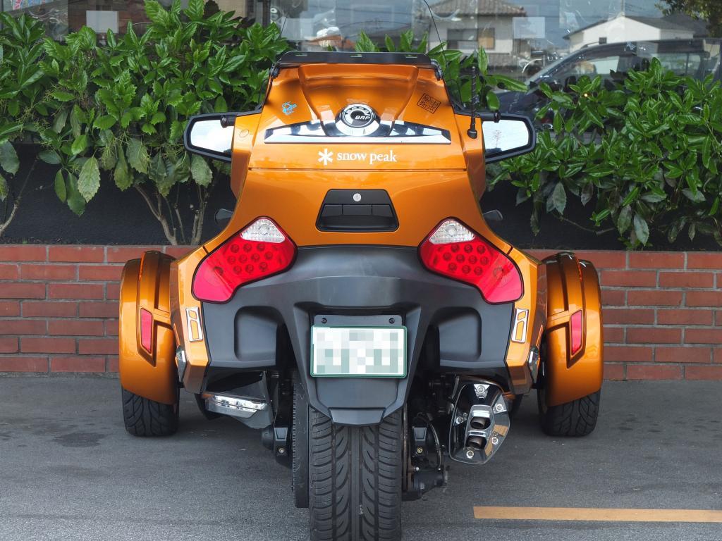 BRP 2014 BRP Can-am Spyder 車体写真6