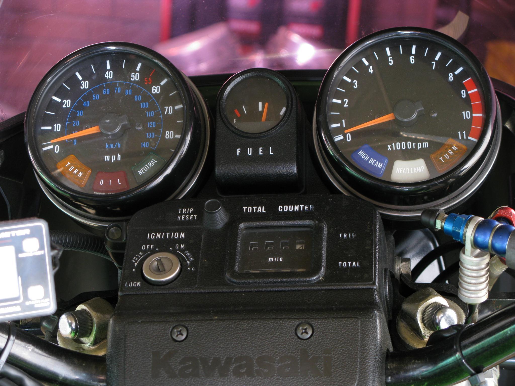 カワサキ 1982 Kawasaki Z1000 R1 車体写真10
