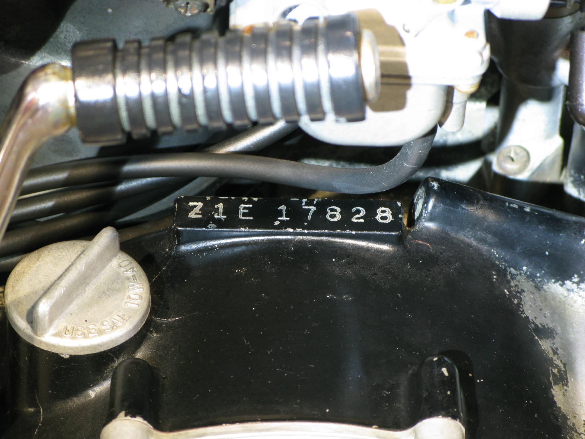 カワサキ 1973 Kawasaki Z1 車体写真11