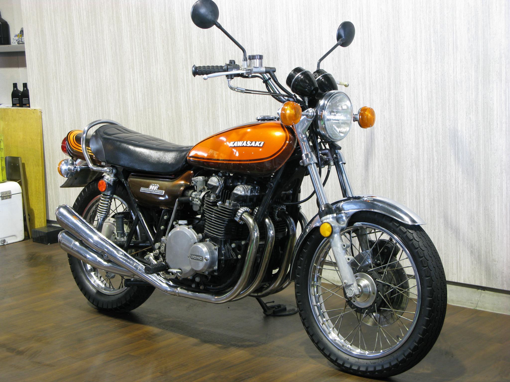 カワサキ 1973 Kawasaki Z1 車体写真2